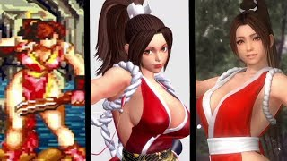 Download Mai Shiranui Evolution (1992-2016) Video