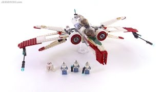 Download LEGO Star Wars ARC-170 Fighter from 2005! set 7259 review Video