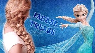 Download Tuto coiffure à la Elsa, Reine des Neiges ❤ Tresse facile pour Nouvel An, fêtes de fin d'année, Noël Video