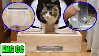 Download 猫砂の飛び散り防止対策で手作り賽銭箱を設置!これで掃除も楽になる!?【Eng CC】 Video