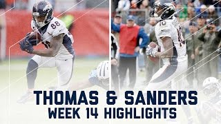 Download Demaryius Thomas & Emmanuel Sanders Combine for 226 Yards | NFL Week 14 Player Highlights Video