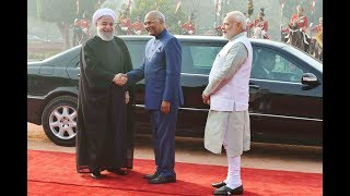 Download President Kovind accorded a ceremonial welcome to President Dr Hassan Rouhani of Iran Video