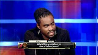 Download Wale confronts Skip over LeBron hate Video