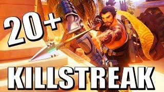 Download 20+ HANZO KILL STREAK - Overwatch Video