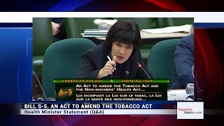 Download Health Minister on Vaping Regs (HESA - 2018) Video