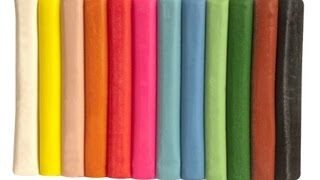Download Play doh massinha de modelar coloridas aprendendo à brincar-Playing play doh Video