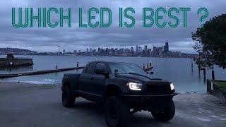 Download HIKARI LED VS IRON WALLS LED H1 headlight low beam Video