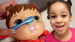 Download FamousTubeKIDS Baby Alive Doll in Real Life Video