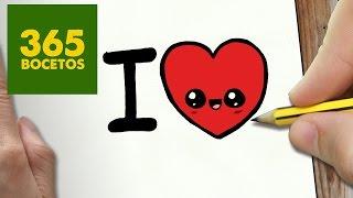 Download COMO DIBUJAR CORAZON KAWAII PASO A PASO - Dibujos kawaii faciles - How to draw a HEART Video