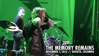 Download Metallica: The Memory Remains (MetOnTour - Bogotá, Colombia - 2016) Video