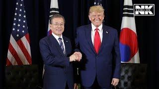 Download Trump says N. Korea not breaking summit deal, Moon expects historic N. Korea-U.S. summit Video