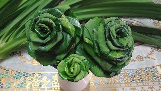 Download วิธีพับใบเตย เป็นดอกกุหลาบ ″ที่มีขนาดดอกบานใหญ่″ Video