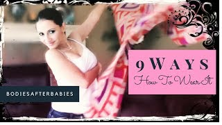 Download Fabfitfun Ruana Scarf | 9 EASY Ways to Wear It Video