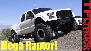 Download Ford F-250 Diesel Super Duty Mega Raptor: When Half-Ton Raptor Just Won't Do! Video