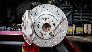 Download I Installed A Stupid Cheap Junkyard Big Brake Kit, And It Looks Amazing! Video