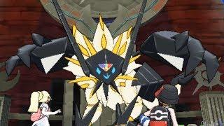 Download Pokemon Ultra Sun and Moon - Necrozma + Solgaleo Battle Video