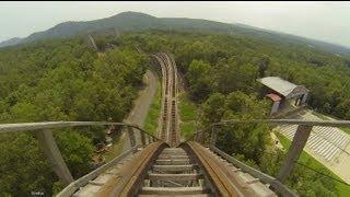 Download Arkansas Twister Wooden Roller Coaster POV Magic Springs, AR Video
