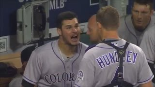 Download MLB Teammate Fights Video