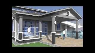 Download Rekabentuk Ubahsuai Rumah 1 Tingkat kepada 2 tingkat di Seksyen 4 Shah Alam, Selangor D.E. Video