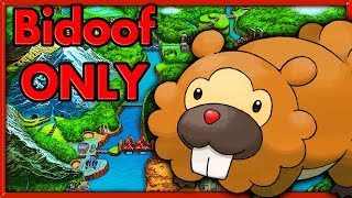 Download Can I Beat Pokemon Black with a single Bidoof? 🔴 NO ITEMS Pokemon Challenges Video