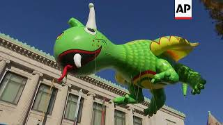 Download Macy's Puts On 91st Thanksgiving Day Parade Video