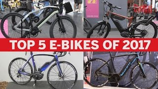 Download Top five electric bikes of 2017 | Cycling Weekly Video