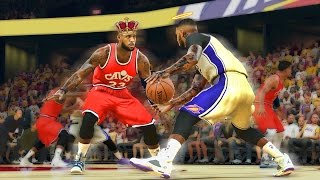 Download KING JAMES VS THE SHOOTING GOD | NBA FINALS REMATCH | BROKE ANDRE ANKLES | NBA 2k17 MyCareer Video