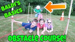 Download Baldi's Basics In Real Life Obstacle Course! Collab With My Two Earthlings Video