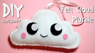 Download DIY | Kawaii Felt Cloud Plushie Video