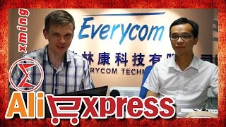 Download AliExpress наизнанку, магазин Everycom и поход на завод Xming 🈶🈚🈸 Video