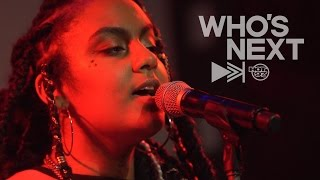 Download Bibi Bourelly + More Bring Mad Vibes To The Who's Next Stage Video