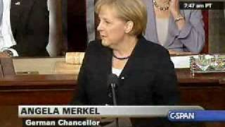 Download Chancellor Merkel Addresses Congress (1) on world issues, Meets with Pres. Obama Video