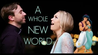 Download A Whole New World - Evynne Hollens feat. Peter Hollens Video