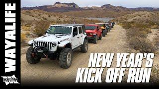Download WAYALIFE NEW YEAR KICK OFF RUN : Desert Off Road & Rock Crawling Fun in Jeep JL & JK Wranglers Video