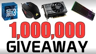 Download 1,000,000 Subscriber Giveaway! iPhone 7 + Gaming PC & More! Video