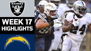 Download Raiders vs. Chargers | NFL Week 17 Game Highlights Video