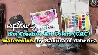 Download Exploring: Koi Creative Art Colors (CAC) from Sakura Video