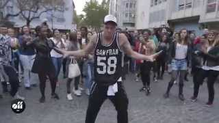 Download Kiesza in Paris: Flashmob at Centre Pompidou Video