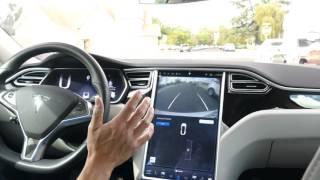 Download Autopark - Tesla's parallel parking software v7 in action Video