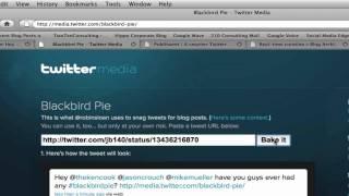 Download Embed Twitter Stream Using Blackbird Pie Video