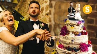 Download HOW TO MAKE A WEDDING CAKE! Video