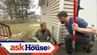 Download How to Install a Channel Drain | Ask This Old House Video
