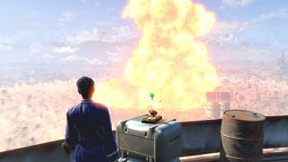 Download Fallout 4 - Railroad Ending (Nuking The Institute, Betraying Shaun) Video