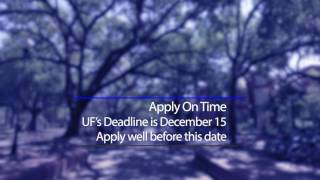 Download The FAFSA and Applying for Financial Aid at UF Video