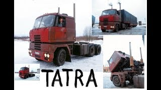 Download Из самосвалов в тягачи.Супер ТАТРА из Пскова и Татра 815 самосвал. Video
