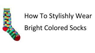 Download Wearing Bright Socks | Men's Colorful Sock Rules | When and How to Wear Brightly Colored Socks Video