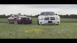 Download The Duramax Camaro and Cummins Charger take to the streets. Video