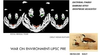 Download Environment, National Parks important for UPSC Prelim, In Next video Biosphere reserve and Ramasar Video