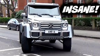 Download DRIVING NEW MERC 4x4² TANK AROUND LONDON!! Video