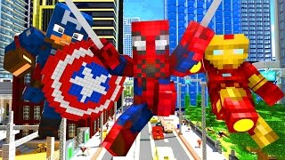 Download Avengers Life - Craftronix Minecraft Animation Video